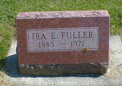 FULLER, IRA E. - Cerro Gordo County, Iowa | IRA E. FULLER