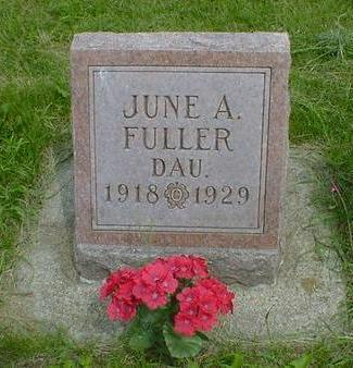 FULLER, JUNE A. - Cerro Gordo County, Iowa | JUNE A. FULLER