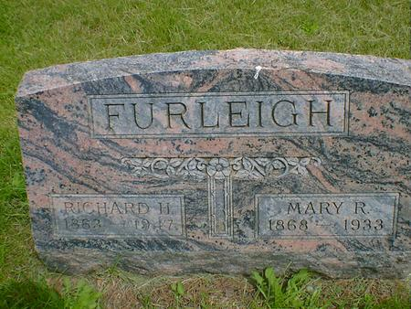 FURLEIGH, RICHARD H. - Cerro Gordo County, Iowa | RICHARD H. FURLEIGH
