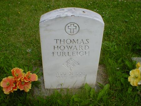 FURLEIGH, THOMAS HOWARD - Cerro Gordo County, Iowa | THOMAS HOWARD FURLEIGH