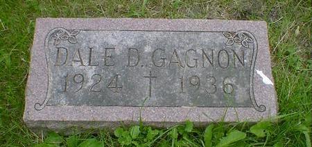 GAGNON, DALE D. - Cerro Gordo County, Iowa | DALE D. GAGNON