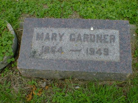 GARDNER, MARY - Cerro Gordo County, Iowa | MARY GARDNER