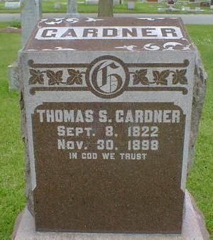 GARDNER, THOMAS S. - Cerro Gordo County, Iowa | THOMAS S. GARDNER