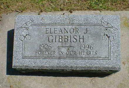 GIBBISH, ELEANOR J. - Cerro Gordo County, Iowa | ELEANOR J. GIBBISH