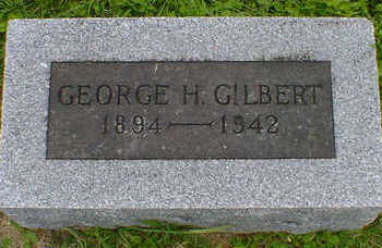 GILBERT, GEORGE - Cerro Gordo County, Iowa | GEORGE GILBERT