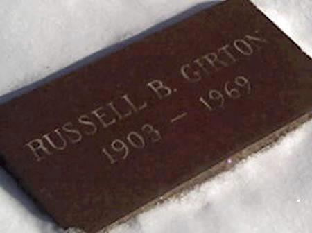 GIRTON, RUSSELL - Cerro Gordo County, Iowa | RUSSELL GIRTON