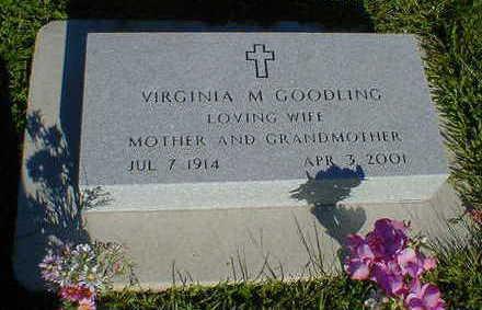 GOODLING, VIRGINIA M. - Cerro Gordo County, Iowa | VIRGINIA M. GOODLING