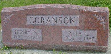 GORANSON, ALTA L. - Cerro Gordo County, Iowa | ALTA L. GORANSON