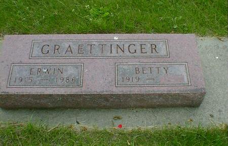 GRAETTINGER, BETTY - Cerro Gordo County, Iowa | BETTY GRAETTINGER