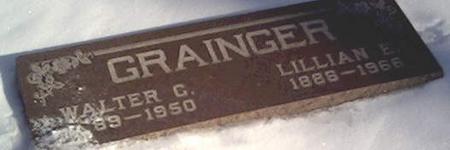 GRAINGER, WALTER - Cerro Gordo County, Iowa | WALTER GRAINGER