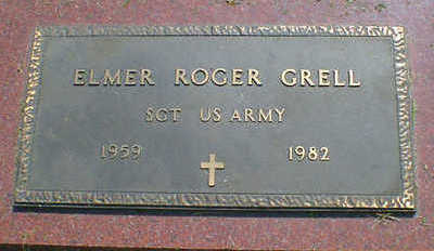 GRELL, ELMER ROGER - Cerro Gordo County, Iowa | ELMER ROGER GRELL