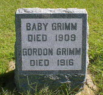 GRIMM, GORDON - Cerro Gordo County, Iowa | GORDON GRIMM