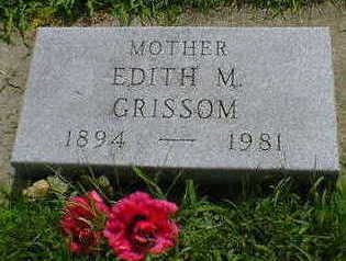 GRISSOM, EDITH M. - Cerro Gordo County, Iowa | EDITH M. GRISSOM
