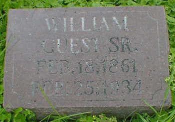 GUEST, WILLIAM SR. - Cerro Gordo County, Iowa | WILLIAM SR. GUEST