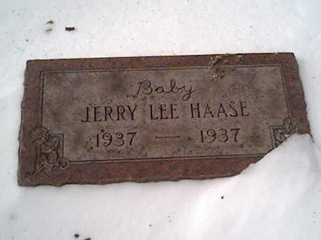 HAASE, JERRY - Cerro Gordo County, Iowa | JERRY HAASE