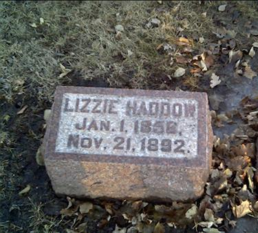 HADDOW, LIZZIE - Cerro Gordo County, Iowa | LIZZIE HADDOW
