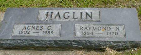 HAGLIN, AGNES C. - Cerro Gordo County, Iowa | AGNES C. HAGLIN