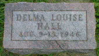 HALL, DELMA LOUISE - Cerro Gordo County, Iowa | DELMA LOUISE HALL