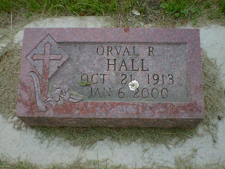 HALL, ORVAL R. - Cerro Gordo County, Iowa | ORVAL R. HALL