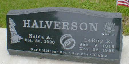 HALVERSON, LEROY R. - Cerro Gordo County, Iowa | LEROY R. HALVERSON