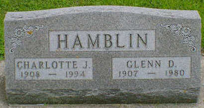 HAMBLIN, GLENN D. - Cerro Gordo County, Iowa | GLENN D. HAMBLIN