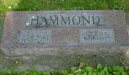 HAMMOND, ARTHUR - Cerro Gordo County, Iowa | ARTHUR HAMMOND