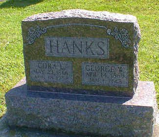HANKS, GEORGE W. - Cerro Gordo County, Iowa | GEORGE W. HANKS