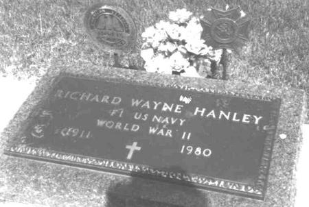 HANLEY, RICHARD WAYNE - Cerro Gordo County, Iowa   RICHARD WAYNE HANLEY