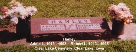 HANLEY, ROBERT L. - Cerro Gordo County, Iowa | ROBERT L. HANLEY