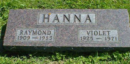 HANNA, VIOLET - Cerro Gordo County, Iowa | VIOLET HANNA