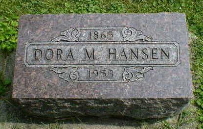 HANSEN, DORA M. - Cerro Gordo County, Iowa | DORA M. HANSEN