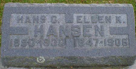 HANSEN, HANS C. - Cerro Gordo County, Iowa | HANS C. HANSEN