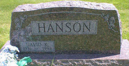 HANSON, DAVID K. - Cerro Gordo County, Iowa | DAVID K. HANSON
