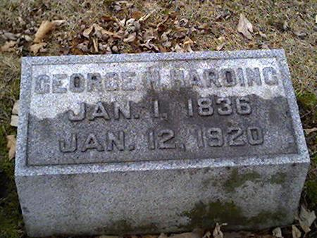 HARDING, GEORGE - Cerro Gordo County, Iowa | GEORGE HARDING