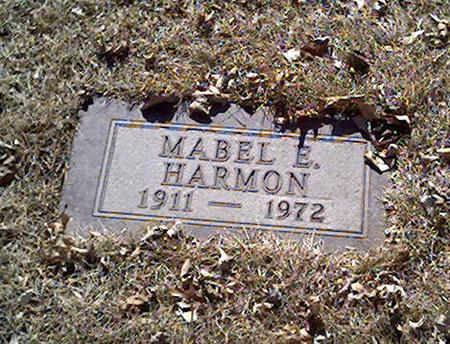 HARMON, MABEL - Cerro Gordo County, Iowa | MABEL HARMON