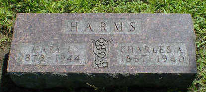 HARMS, CHARLES A. - Cerro Gordo County, Iowa | CHARLES A. HARMS