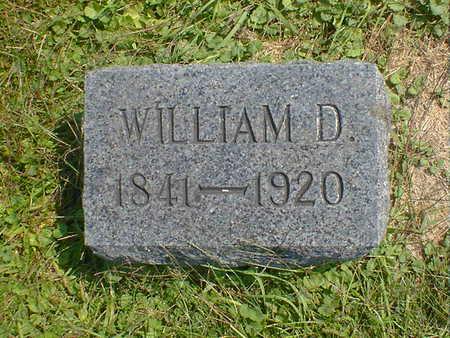 HARTSOUGH, WILLIAM D. - Cerro Gordo County, Iowa   WILLIAM D. HARTSOUGH