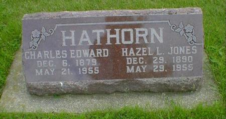 HATHORN, CHARLES EDWARD - Cerro Gordo County, Iowa | CHARLES EDWARD HATHORN