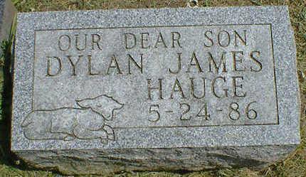 HAUGE, DYLAN JAMES - Cerro Gordo County, Iowa   DYLAN JAMES HAUGE