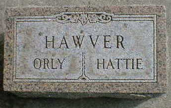 HAWVER, HATTIE - Cerro Gordo County, Iowa | HATTIE HAWVER