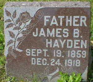 HAYDEN, JAMES B. - Cerro Gordo County, Iowa | JAMES B. HAYDEN