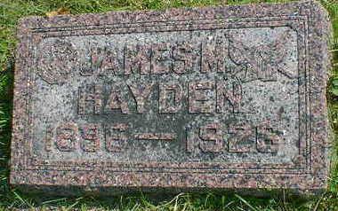 HAYDEN, JAMES - Cerro Gordo County, Iowa | JAMES HAYDEN