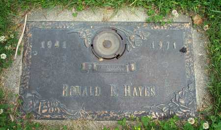 HAYES, RONALD E - Cerro Gordo County, Iowa | RONALD E HAYES