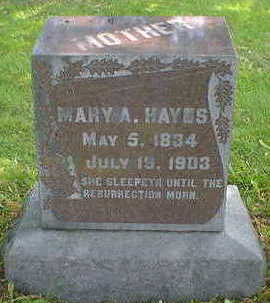 HAYS, MARY - Cerro Gordo County, Iowa | MARY HAYS