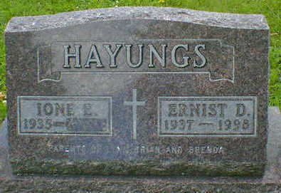 HAYUNGS, ERNIST D. - Cerro Gordo County, Iowa | ERNIST D. HAYUNGS
