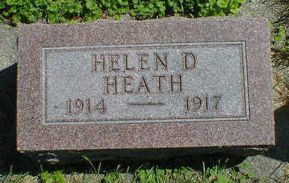 HEATH, HELEN D. - Cerro Gordo County, Iowa | HELEN D. HEATH