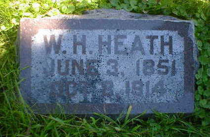 HEATH, W. H. - Cerro Gordo County, Iowa | W. H. HEATH