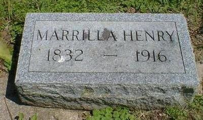 HENRY, MARRILLA - Cerro Gordo County, Iowa | MARRILLA HENRY