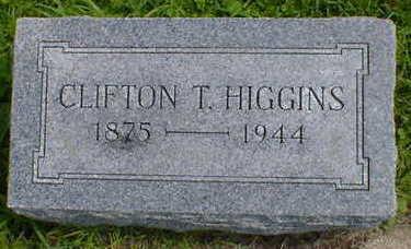 HIGGINS, CLIFTON T. - Cerro Gordo County, Iowa | CLIFTON T. HIGGINS