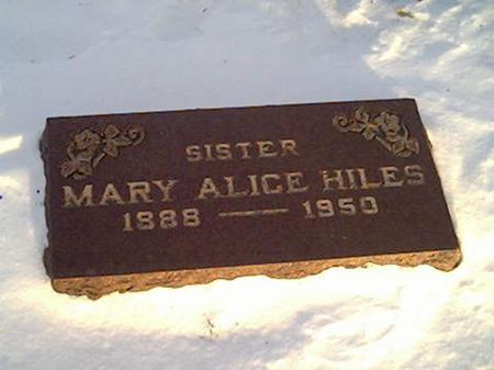 HILES, MARY - Cerro Gordo County, Iowa | MARY HILES